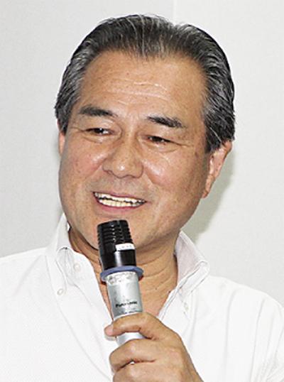 桐生氏が県政報告