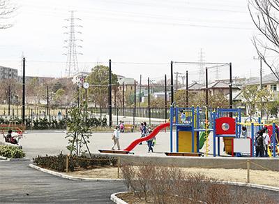 西公園の再整備完了