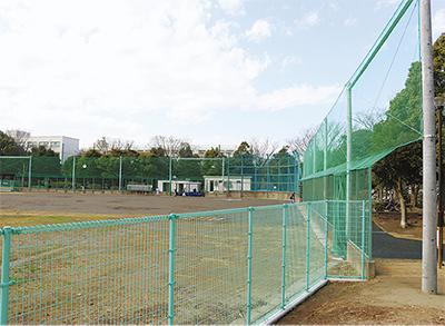 野球場がリニューアル