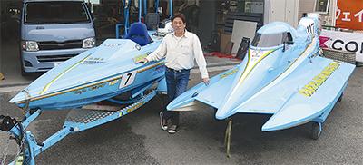 ボート日本GPに参戦