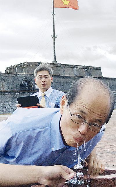 ベトナムで水道局の技術が活躍