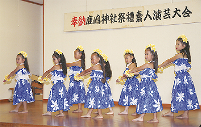 鹿嶋神社で例大祭