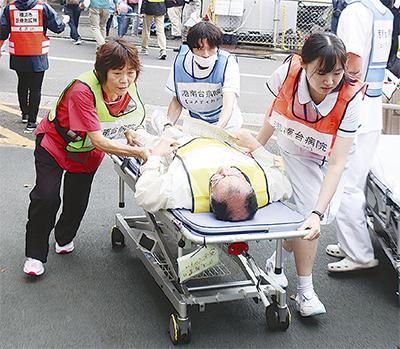 初の災害医療合同訓練