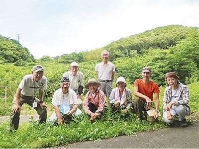 瀬上沢の緑地保全 市が評価