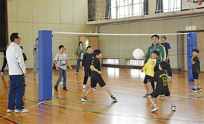 未経験スポーツに挑戦