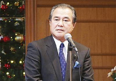 桐生県議がクリスマス会