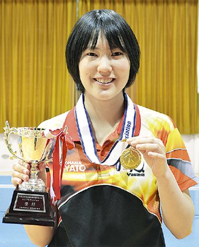 卓球ジュニアで日本一に