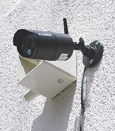 防犯カメラ5台目設置