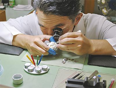時計修理のプロ集団
