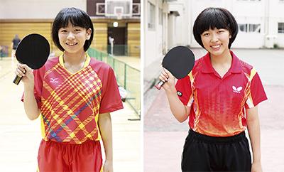 港南区から関東大会へ2選手