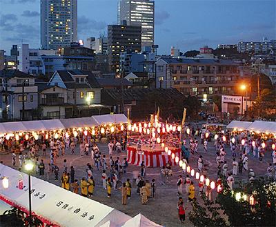 港南区シ連盆踊り大会