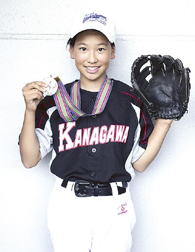 女子学童野球で県選抜に