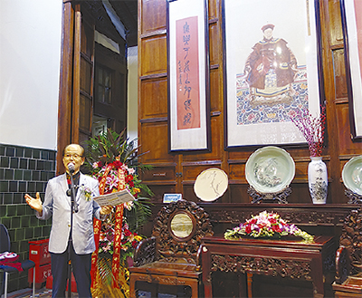 書道を通じ上海と交流