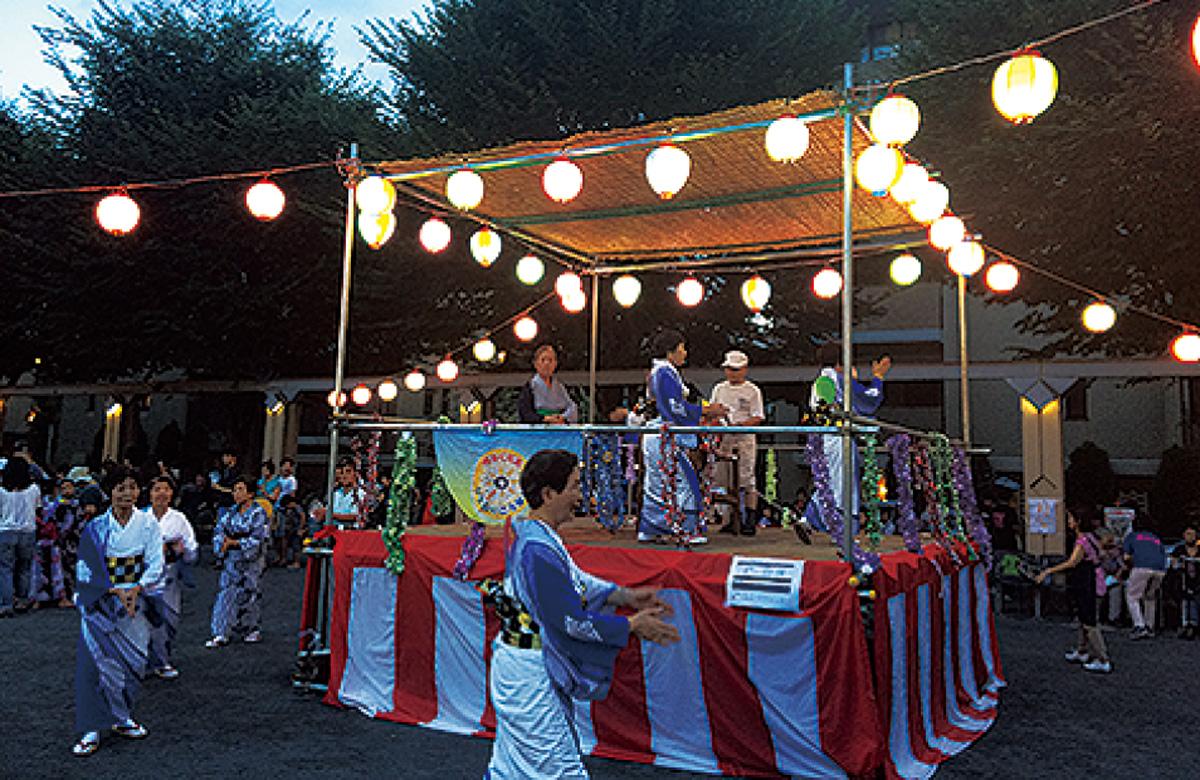 上大岡で盆踊り
