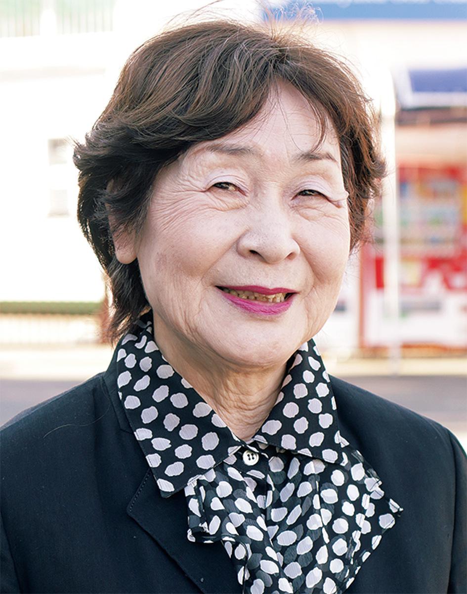 山川 岳芳(がくほう)さん(本名・篤子)