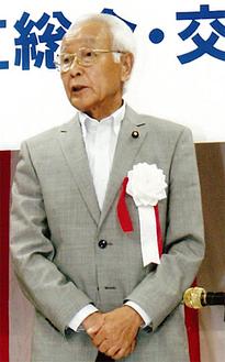 会長に選出された金子豊さん
