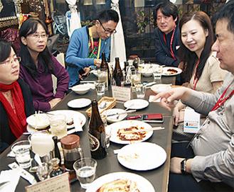 「タマガワ」を訪れた中国人