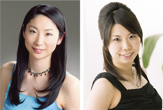 香川さん(右)井上さん(左)によるピアノ演奏