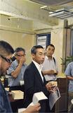 昨年7月のフォーラムの様子。被災地の日本酒を味わった