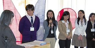 日本での生活を語る研修生たち