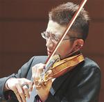 ヴァイオリンの石田泰尚さん