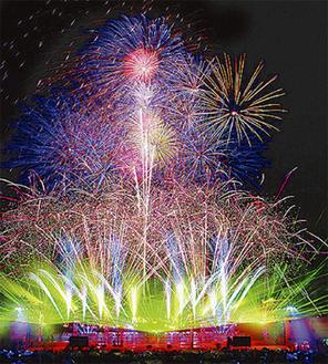 花火ショーのイメージ