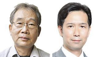 持丸宗行氏(左)梶尾明氏(右)