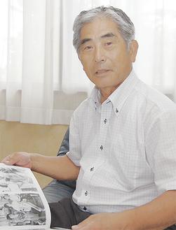 幼少期の伊勢佐木町を振り返る斉藤さん
