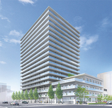 プロジェクトイメージパース=横浜市住宅供給公社提供
