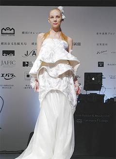 ファッションデザイン部門のグランプリ作品