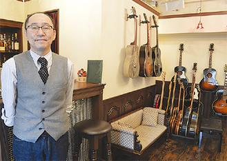 「飲むだけでも大歓迎です」と店長の五十嵐浩之さん