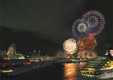 今年の神奈川新聞花火大会(森日出夫氏撮影)
