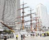 みなとみらいの帆船日本丸