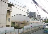 解体が進む旧横浜総合高の校舎