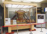 入口に展示された火伏神輿