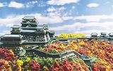 日本の名城を情景と共に復元したジオラマ模型は40城展示