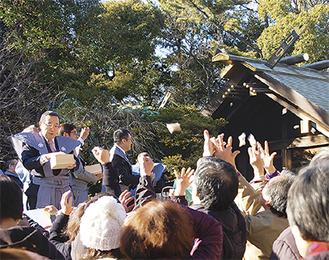横浜の総鎮守・伊勢山皇大神宮