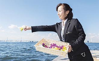 「今話題の海洋葬もご案内できます」