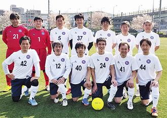 初の試合は1対0で完封勝利を収めた(YSCC提供)