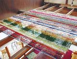 西区東ヶ丘のカサコに保管された1万人をつなぐ糸