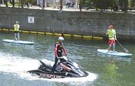 水上バイクの影響を検証