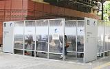 JR関内駅前の喫煙所
