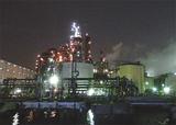 迫力満点の工場夜景