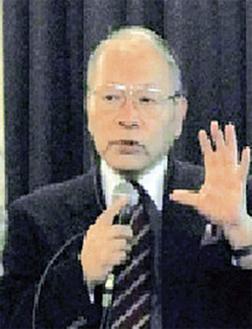 1回目講師の松為県立保健福祉大学名誉教授
