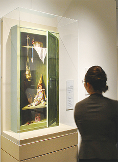 岩田榮吉の代表的な「トロンプルイユ」作品の展示・解説も