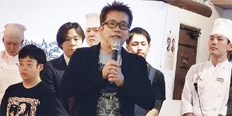 「生産者の想いを伝えていきたい」と太田久士社長