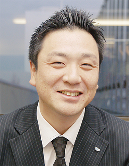 JC活動について語る草島理事長