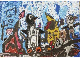 受賞作『ゴミの山を歩くペンギン』