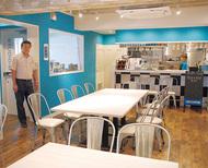 地域拠点にカフェ開設