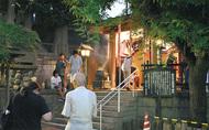 西区・願成寺で護摩祈祷